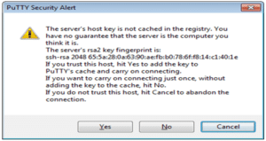 Sécurisation IOS Cisco – Line VTY – Putty – SSH – Telnet