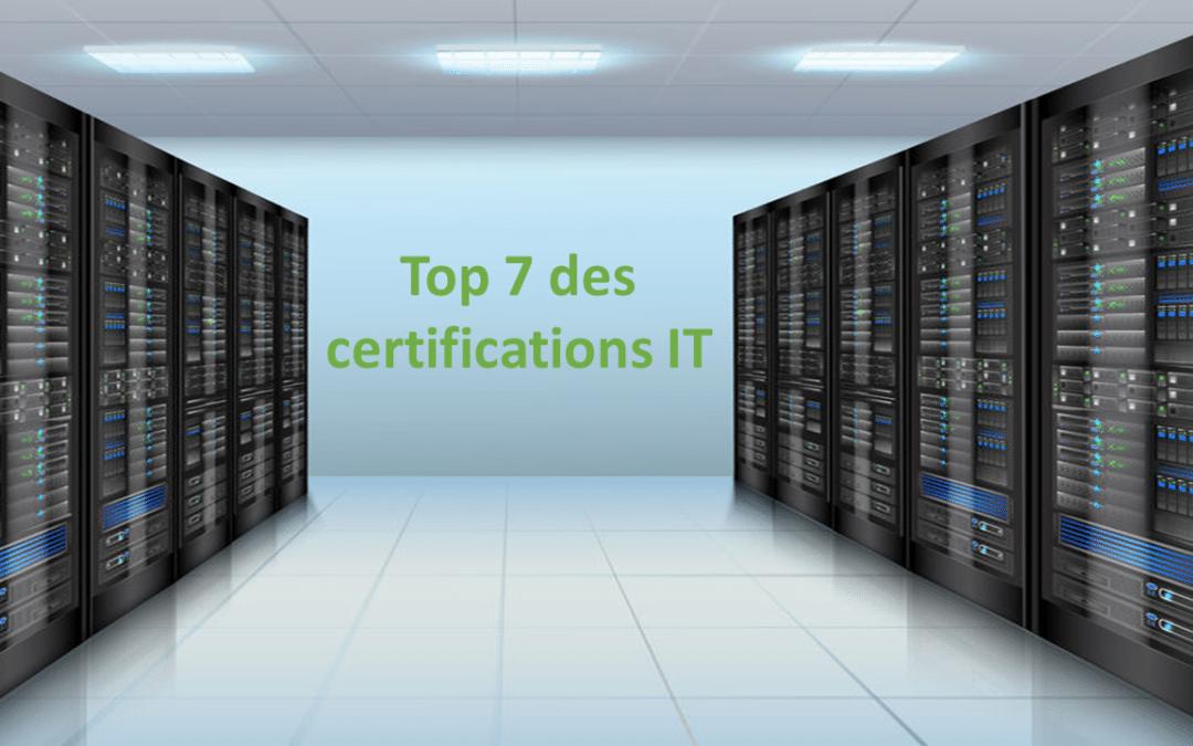 Top 7 des certifications IT