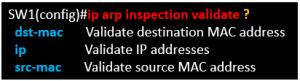 DAI Dynamic ARP Inspection