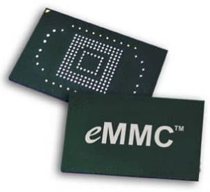 64Go SSD eMMC (mémoire Flash) inclus