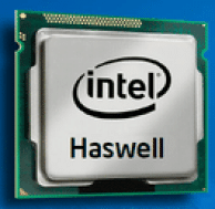The Intel Haswell Processor.